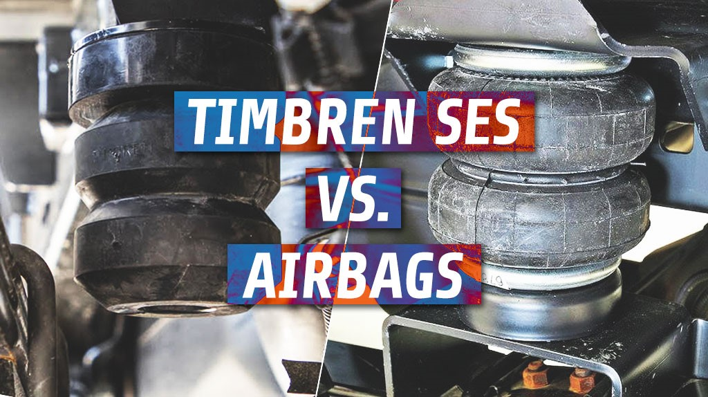 Timbren Suspension vs Airbags