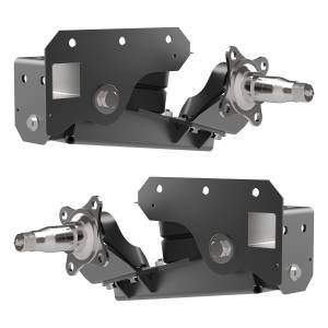 2000 lb Axle-Less Trailer Suspension w/ Brake Flange - Image 2