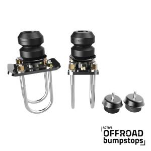 Timbren - Chevy Colorado Front & Rear Active Off-Road Bumpstop Package With U-Bolt Flip Kit - Image 1
