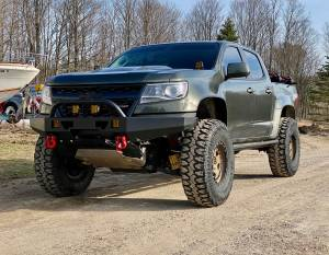 Timbren - Chevy Colorado Front & Rear Active Off-Road Bumpstop Package - Image 3