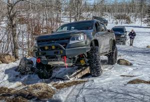 Timbren - Chevy Colorado Front & Rear Active Off-Road Bumpstop Package With U-Bolt Flip Kit - Image 3